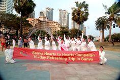 Group photo after playing Taichi. #SanyaTrip #SanyaHeartstoHearts#MyInfluentialFriend #SanyaHeartstoHearts