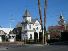 W – Wedding Chapels. There are many wedding chapels located throughout Nevada--especially on the Las Vegas Strip.