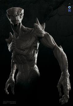 Reptile Creature KS by Nero-tbs.deviantart.com on @DeviantArt