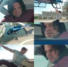 "Bucky is just like ""Wut. How is he... You're kidding me"" MEEE TOOO Bucky, me too."