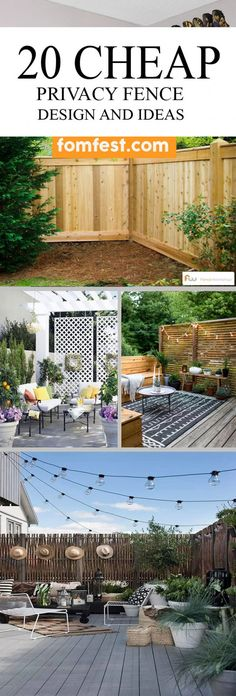 Astounding 8ft privacy fence ideas #PrivacyFenceIdeas #CheapPrivacyFence