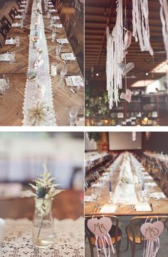 simple wedding reception decor..but will change things up a bit.