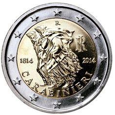NUMISVICTOR7: Italia - 1 ª Conmemorativa de dos euros de 2014