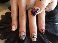#halloween #nails http://vilamulher.terra.com.br/unhas-de-halloween-2-1-13-1331.html