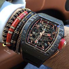 Richard Mille, Men's Accessories, Estilo Fashion, Seiko Watches, Luxury Watches For Men, Beautiful Watches, Cool Watches, Quartz Watch, Bracelets For Men