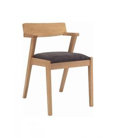 This dining chair is a unique combination of sharp and gently design.It has an ability to fit comfortably in both contemporary and traditional interiors.