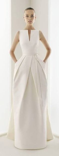 This structured top with the same pleat structure, but in more of a short, a-line skirt...I wonder.