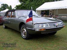 CITROEN-sm-presidentielle-Chapron-cabriolet-1972-1901 Citroen Ds, Psa Peugeot Citroen, Maserati, Bugatti, Vintage Racing, Vintage Cars, My Dream Car, Dream Cars, Space Car