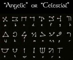 Ancient Occult Symbols | Enoralia ~ - Spell Writing: Ancient Alphabet