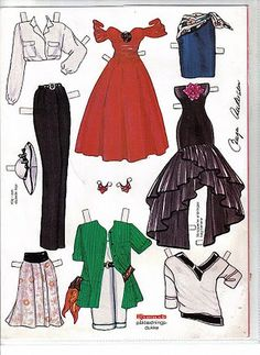 BARBIE 1 - maribel orobengoa - Picasa Albums Web *** Paper dolls for Pinterest friends, 1500 free paper dolls at Arielle Gabriel's International Paper Doll Society, writer The Goddess of Mercy & The Dept of Miracles, publisher QuanYin5