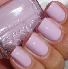 Essie - Meet Me at the Alter. GORGEOUS, feminine, soft pink. I also really love the blue undertones. The name is very fitting as well, as it is a fabulous wedding color.