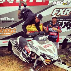 Levi Lavallee Waiting for Snow #haydays #polaris #snowmobiles