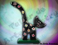 Arte Country, Life Is Good, Good Things, Google, Painted Pottery, Wooden Figurines, Rocks, Mandalas, Cats