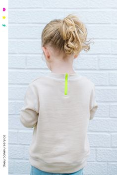 Organic Zip Back Sweatshirt in Cream with neon yellow zipper detail Organic Zip Back Sweatshirt in Cream with neon yellow zipper detail The Urban Nursery organic infant clothing theurbannurseryapparel Organic nbsp hellip Fall Baby Clothes, Modern Baby Clothes, Gender Neutral Baby Clothes, Cool Kids Clothes, Organic Baby Clothes, Toddler Outfits, Baby Boy Outfits, Unisex Clothes, Cool Baby Stuff