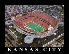 Arrowhead...home of the Chiefs!
