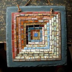 a merging of two of my creative interests! #inspiration #mosaic
