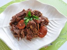 Portuguese Pot Roast in Wine & Garlic Recipe Garlic Recipes, Paleo Recipes, Cooking Recipes, Cooking Ideas, Portuguese Recipes, Portuguese Food, Portuguese Culture, Oven Pot Roast, Cooking