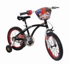 8. Power Rangers Boy's 16Inch Mega Bike