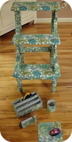 covering furniture with fabric