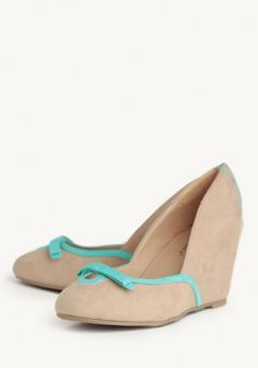 You're A Natural Wedges In Taupe
