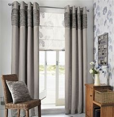 Buy Blue Ruffle Eyelet Curtains from the Next UK online shop