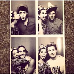 Zoella with friends (: <<<< Zalfie in the corner though aww ♡♡♡