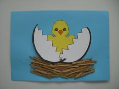 AULA INFANTIL: PORTADAS PARA TRABAJOS Tapas, Art Classroom, Easter Crafts, Spring Time, Charlie Brown, Tweety, Projects To Try, Album, School