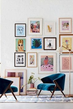 Decor, Accent Chairs For Living Room, Living Room Chairs, Gallery Wall, Cheap Home Decor, Decor Inspiration, Home Decor, Living Decor, Living Room Decor Inspiration
