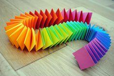 papier couleur   En suivant cette vidéo vous réaliserez facilement cette très jolie ...