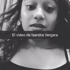 Esta es el vídeo de Isandra Vergara