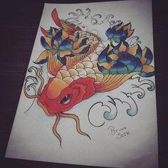 Carpa  Desenho - Bruna Sesto