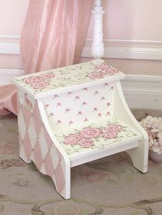 . (...cr....Cute step-up stool for my great granddaughter)