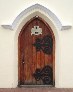 Doorway in Stellenbosch, Western Cape, Africa