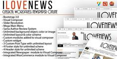 IloveNews - Classic and clean Newspaper Theme