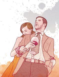 Co-addiction for Twoj Styl by Bartosz Kosowski, via Behance