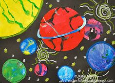 planets, creative expression, a process... I like this
