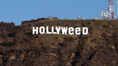 Hollywood sign vandalized to read 'Hollyweed' - CNN.com