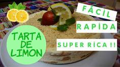 TARTA DE LIMON SIN HORNO .... LA MAS RICA DEL MUNDO !!! - YouTube