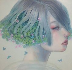 Beautiful Painting by Japanese Artist Miho Hirano