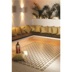 Original Style tiles - Alhambra Summer Yellow and Regency Bath on White… Moroccan Design, Moroccan Decor, Home Room Design, House Design, Garden Design, Moroccan Garden, Arabic Decor, Style Tile, Moorish