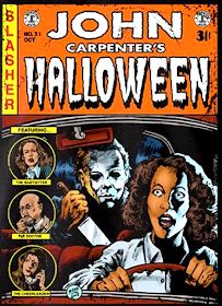 Best Horror Movies, Classic Horror Movies, Horror Films, Scary Movies, Ec Comics, Horror Comics, Horror Icons, Horror Movie Posters, Michael Myers
