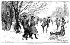 §§§ : A Good Day for Skating : St. Nicholas Magazine : 1887