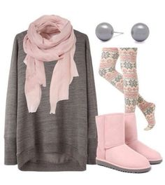Cute winter outfits for teens! -Tween/Teen Fashion & Accessories without uggs Fashion Mode, Look Fashion, Womens Fashion, Fashion Trends, Fashion Ideas, Fall Fashion, Fashion Clothes, Fashion Outfits, Fashion Fashion