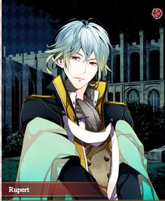 Rupert- Beautiful red eyes!! Shall we date- Blood in Roses- Otome.
