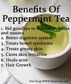 Health Remedies Health Benefits Of Peppermint Tea - Peppermint tea may provide you with myriad health benefits. if you want to know more about it, find here 22 best benefits of peppermint tea for your health. Peppermint Tea Benefits, Health And Wellness, Health Tips, Best Teas For Health, Health Care, Health Retreat, Health Yoga, Gut Health, For Your Health