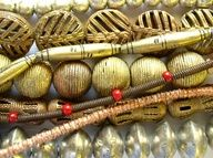 We recently replenished our selection of African Metal Beads and Amulets.  Included are a variety of styles, shapes and designs - some very old and special.  Browse them here: www.happymangobea...