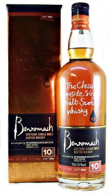 100 Proof !!! Benromach 10 year old Single Malt Whisky 57% 70cl