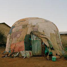 Somalia houses.