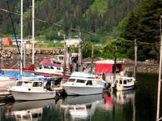 Douglas Pier, Alaska by T Julian Holder 2009