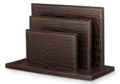 Luxe Hermès Crocodile Desk Accessories Set Cost A Monstrous $92,000
